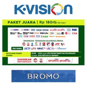 Paket Juara 1 Bulan K Vision C Band