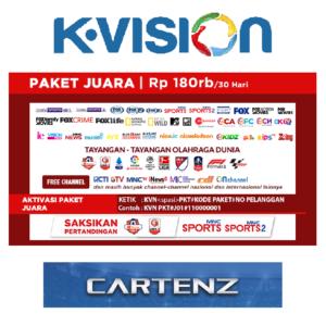 Paket Juara K Vision KU Band