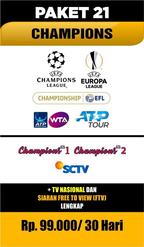 Paket Nex Parabola Champions