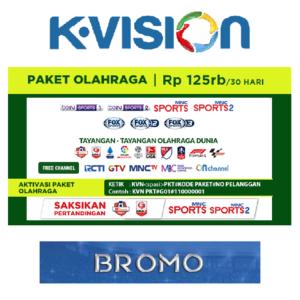 Paket Olahraga K Vision C Band