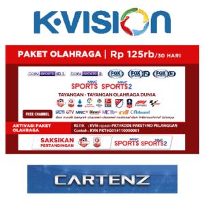 Paket Olahraga K Vision Ku Band