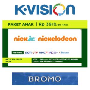 Paket Anak K Vision C Band