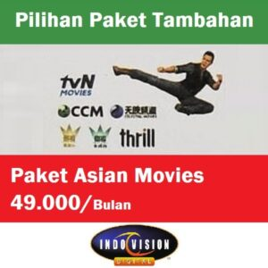 Paket Asian Movies Indovision