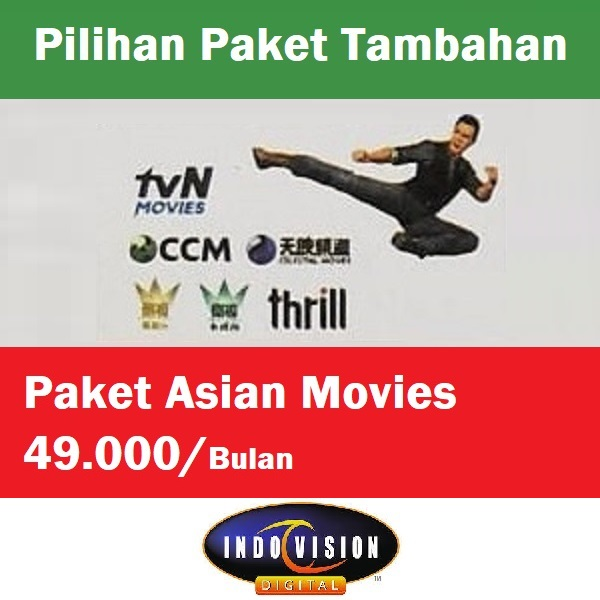 Paket Asian Movies Indovision