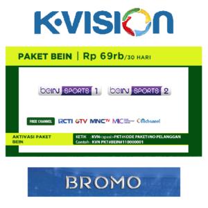 Paket Bein K Vision C Band
