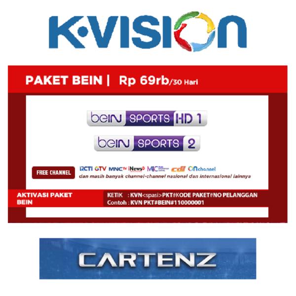 Paket Bein K Vision Ku Band