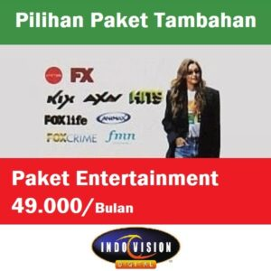 Paket Entertainment Indovision