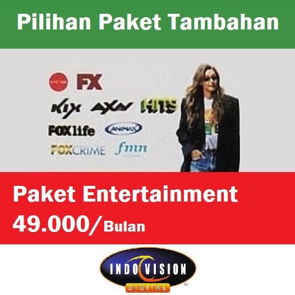 Paket Entertainment Indovision