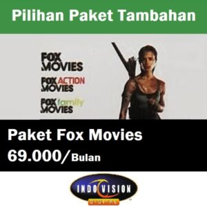 Paket Fox Movies Indovision