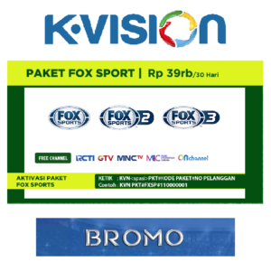 Paket Fox Sports K Vision C Band