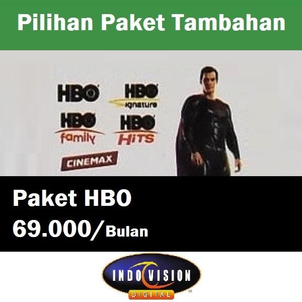 Paket HBO Indovision