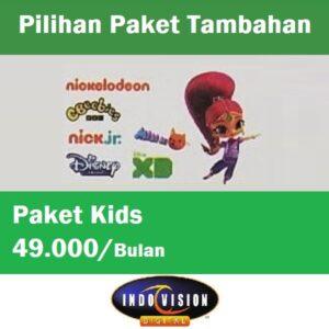 Paket Kids Indovision