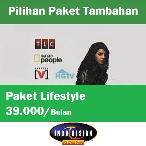 Paket Lifestyle Indovision