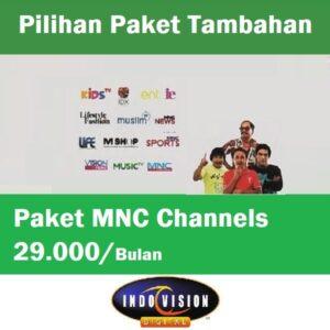 Paket MNC Channel Indovision