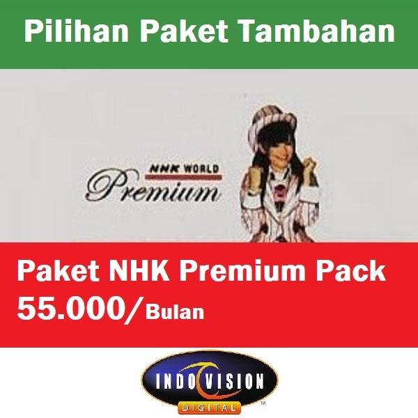 Paket NHK Premium Pack Indovision