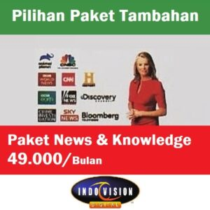 Paket News And Knowledge Indovision